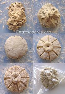 Pan griego express en bolsa de asar