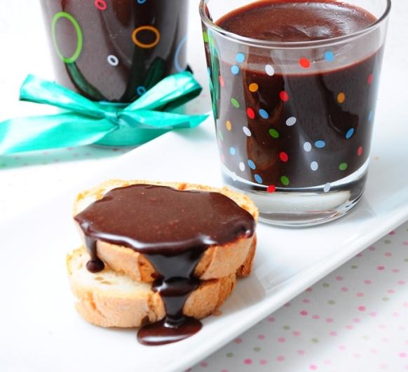 Crema de cacao para el bocadillo