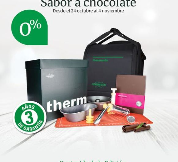 SIN INTERESES CON SABOR A CHOCOLATE