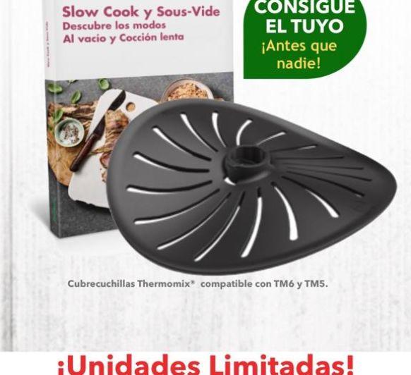 CUBRECUCHILLAS Thermomix® Nuevo accesorio que te ofrecemos en primicia