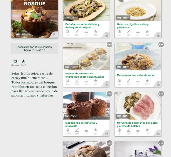 Nuevas colecciones en Cookidoo de Thermomix® Almería