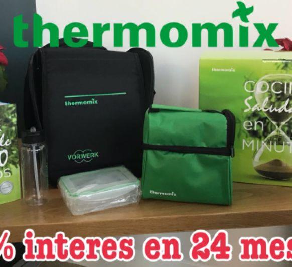 Thermomix® + COCINA SALUDABLE EN 30 MINUTOS = 0% INTERÉS