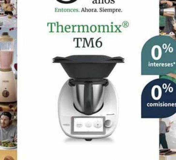 Thermomix® 0% Intereses y 0%comisión apertura