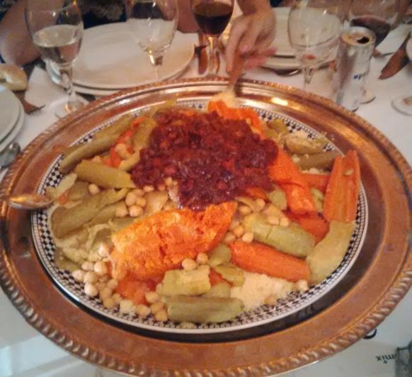 Cuscus de cordero con verduras en Thermomix®