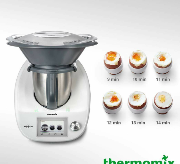 COCER HUEVOS Thermomix®