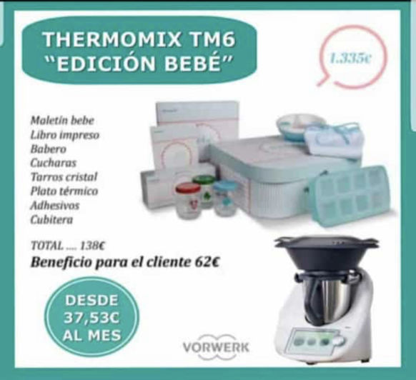 Thermomix® y tú bebé