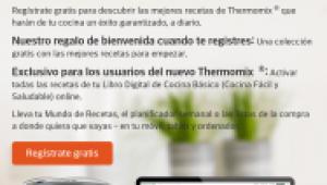 Nueva Plataforma de recetas Thermomix®