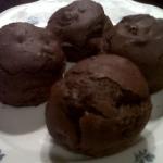 Muffins de chocolate sin gluten
